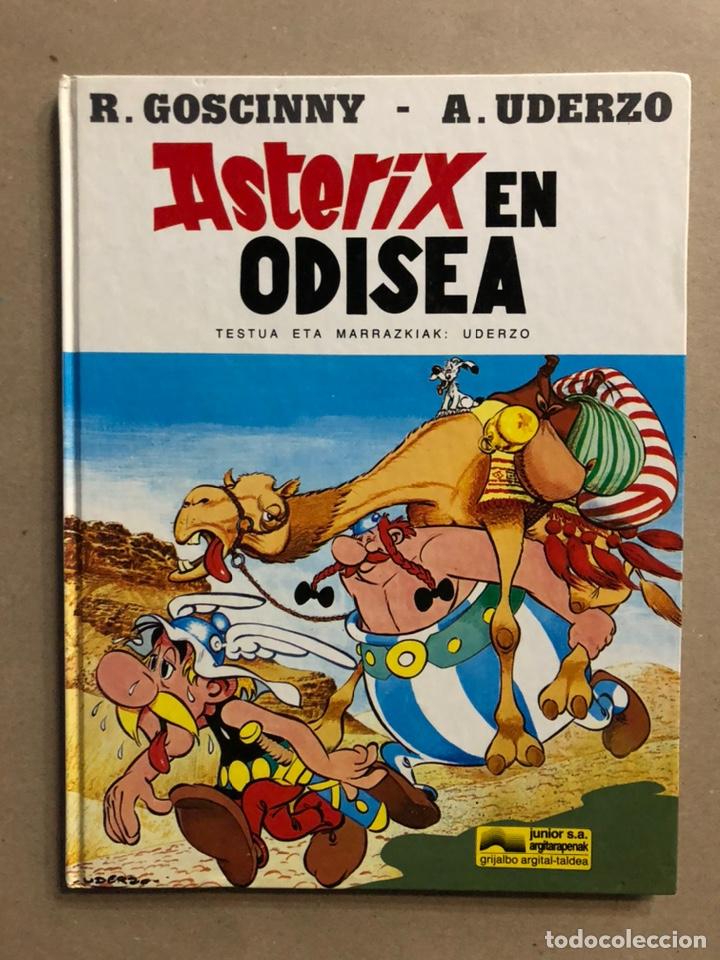 AZTERIXEN ODISEA. EN EUSKERA. GOSCINNY - UDERZO. JUNIOR ARGITARAPENAK - GRIJALBO ARGITALDEA 1989 (Tebeos y Comics - Grijalbo - Asterix)
