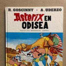 Cómics: AZTERIXEN ODISEA. EN EUSKERA. GOSCINNY - UDERZO. JUNIOR ARGITARAPENAK - GRIJALBO ARGITALDEA 1989. Lote 235528580