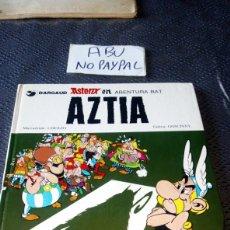 Cómics: ASTERIX Y OBELIX EUSKERA AZTIA GRIJALBO DARGAUD VER FOTOS ESTADO PORTADA CON DOS GOLPES INTERIOR BOL. Lote 235719860