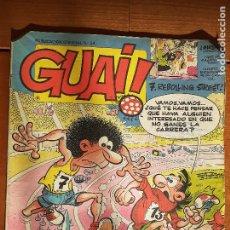 Cómics: GUAI! Nº 24. CON ASTERIX, LUCKY LUKE, MARLKOWE. EDICIONES JUNIOR GRIJALBO 1986. Lote 235903550