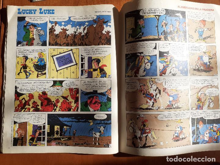Cómics: Guai! Nº 24. Con Asterix, Lucky Luke, Marlkowe. Ediciones Junior Grijalbo 1986 - Foto 6 - 235903550