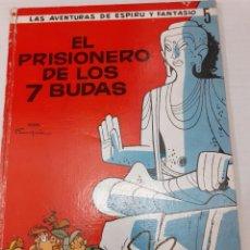 Cómics: ESPIRU I FANTASIO Nº 5 - EL PRISIONERO DE LOS 7 BUDAS - JAIMES 1967 - BIEN Y DIFICIL. Lote 235977480