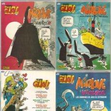 Cómics: LOTE 3 TEBEOS TOPE GUAI MIRLOWE Nº 2, 6 Y 14. AÑO 1987. Lote 236011255