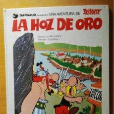 Cómics: ASTÉRIX Y OBELIX LA HOZ DE ORO DARGAUD 1980. Lote 236021360