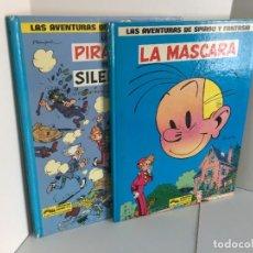 Cómics: LAS AVENTURAS DE SPIROU Y FANTASIO. LA MASCARA. LOS PIRATAS DEL SILENCIO. GRIJALBO. FRANQUÍN. Lote 236084720