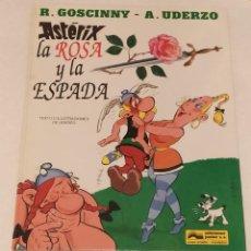 Cómics: AXTERIX LA ROSA Y LA ESPADA Nº 29- EDICIONES JUNIOR- AÑO. 1991. Lote 236219690