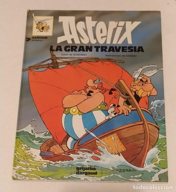 AXTERIX LA GRAN TRAVESIA Nº 22- GRIJALBO- AÑO. 1981 (Tebeos y Comics - Grijalbo - Asterix)