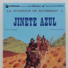 Cómics: LA JUVENTUD DE BLUEBERRY 3 CHARLIER - GIRAUD, JINETE AZUL Nº 14 (GRIJALBO). Lote 236251580
