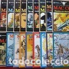 Cómics: MAC COY COLECCIÓN COMPLETA 21 TOMOS, ANTONIO HERNANDEZ PALACIOS. Lote 236443760