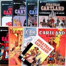 Fumetti: COLECCÍÓN COMPLETA JONATHAN CARTLAND 8 TOMOS + COMIC 16/22 + Nº1 EN FRANCES. Lote 236444510