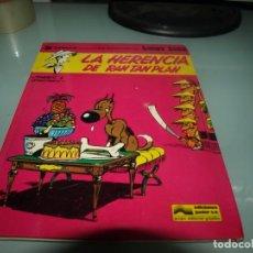 Cómics: LUCKY LUKE, LA HERENCIA DE RAN TAN PLAN,EDICIONES JUNIOR. Lote 236464410