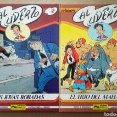 Cómics: LOTE LUC JUNIOR: NÚMEROS 1-2, POR GOSCINNY Y UDERZO (JUNIOR/GRIJALBO, 1989-1991).. Lote 237143485
