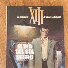 Cómics: XIII - Nº 1 - EL DIA DEL SOL NEGRO - GRIJALBO - TAPA DURA - GCH. Lote 237453510