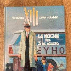 Fumetti: XIII - Nº 7 - LA NOCHE DEL 3 DE AGOSTO - GRIJALBO - TAPA DURA - GCH. Lote 237454670