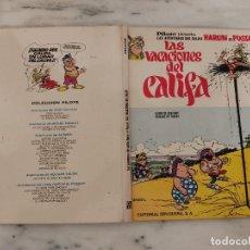 Cómics: AVENTURAS DEL CALIFA HARUN EL PUSSAH - LAS VACACIONES DEL CALIFA. Lote 237461455