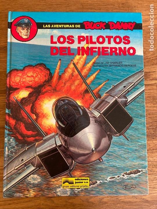 LAS AVENTURAS DE BUCK DANNY 42 - LOS PILOTOS DEL INFIERNO - GRIJALBO - TAPA DURA - GCH (Tebeos y Comics - Grijalbo - Otros)