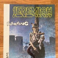 Cómics: JEREMIAH Nº 10 - BOOMERANG - HERMANN - GRIJALBO - TAPA DURA - GCH. Lote 237620805