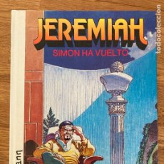 Cómics: JEREMIAH Nº 14 - SIMON HA VUELTO - HERMANN - GRIJALBO - TAPA DURA - GCH. Lote 237621275