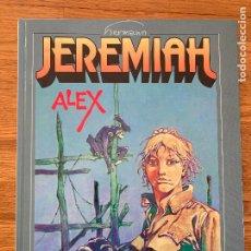 Comics : JEREMIAH Nº 15 - ALEX - HERMANN - GRIJALBO - TAPA DURA - GCH. Lote 237621415