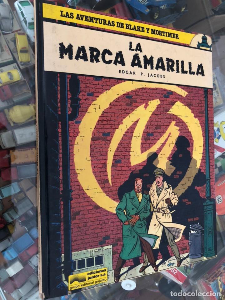 COMIC TAPA DURA LAS AVENTURAS DE BLAKE Y MORTIMER Nº 3 LA MARCA AMARILLA EDITORIAL GRIJALBO 1984 (Tebeos y Comics - Grijalbo - Blake y Mortimer)