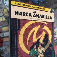 Cómics: COMIC TAPA DURA LAS AVENTURAS DE BLAKE Y MORTIMER Nº 3 LA MARCA AMARILLA EDITORIAL GRIJALBO 1984. Lote 237664560