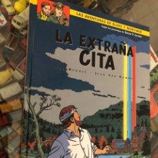 Cómics: COMIC TAPA DURA LAS AVENTURAS DE BLAKE Y MORTIMER Nº 15 LA EXTRAÑA CITA EDITORIAL NORMA 2002. Lote 237665015