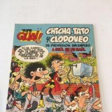 Fumetti: TOPE GUAI! Nº 18 CHICHA, TATO Y CLODOVEO A SEÚL EN UN BAÚL EDICIONES JÚNIOR 1987. Lote 237665600