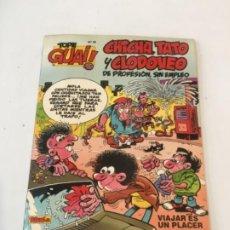 Fumetti: TOPE GUAI! Nº 24 CHICHA, TATO Y CLODOVEO VIAJAR ES UN PLACER TEBEOS SA 1989. Lote 237667280