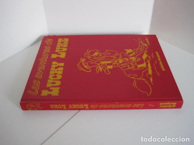 Cómics: LAS AVENTURAS DE LUCKY LUKE. GRIJALBO DARGAUD. GUIÓN, GOSCINNY. ILUSTRA, MORRIS. 4 TOMOS, COMPLETA. - Foto 3 - 237713870