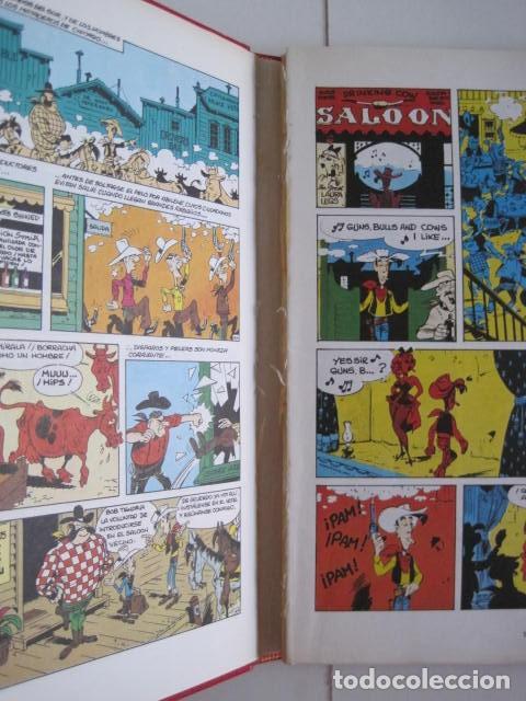 Cómics: LAS AVENTURAS DE LUCKY LUKE. GRIJALBO DARGAUD. GUIÓN, GOSCINNY. ILUSTRA, MORRIS. 4 TOMOS, COMPLETA. - Foto 11 - 237713870