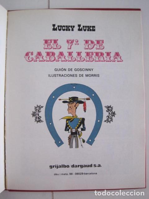 Cómics: LAS AVENTURAS DE LUCKY LUKE. GRIJALBO DARGAUD. GUIÓN, GOSCINNY. ILUSTRA, MORRIS. 4 TOMOS, COMPLETA. - Foto 13 - 237713870