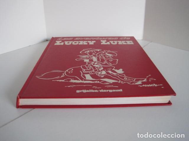 Cómics: LAS AVENTURAS DE LUCKY LUKE. GRIJALBO DARGAUD. GUIÓN, GOSCINNY. ILUSTRA, MORRIS. 4 TOMOS, COMPLETA. - Foto 17 - 237713870