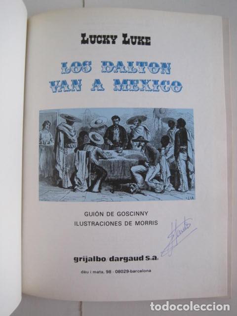 Cómics: LAS AVENTURAS DE LUCKY LUKE. GRIJALBO DARGAUD. GUIÓN, GOSCINNY. ILUSTRA, MORRIS. 4 TOMOS, COMPLETA. - Foto 22 - 237713870