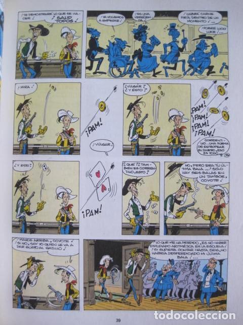 Cómics: LAS AVENTURAS DE LUCKY LUKE. GRIJALBO DARGAUD. GUIÓN, GOSCINNY. ILUSTRA, MORRIS. 4 TOMOS, COMPLETA. - Foto 25 - 237713870