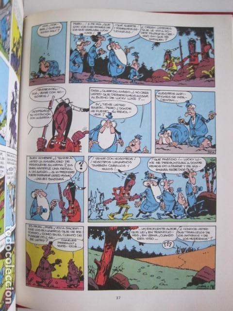 Cómics: LAS AVENTURAS DE LUCKY LUKE. GRIJALBO DARGAUD. GUIÓN, GOSCINNY. ILUSTRA, MORRIS. 4 TOMOS, COMPLETA. - Foto 26 - 237713870