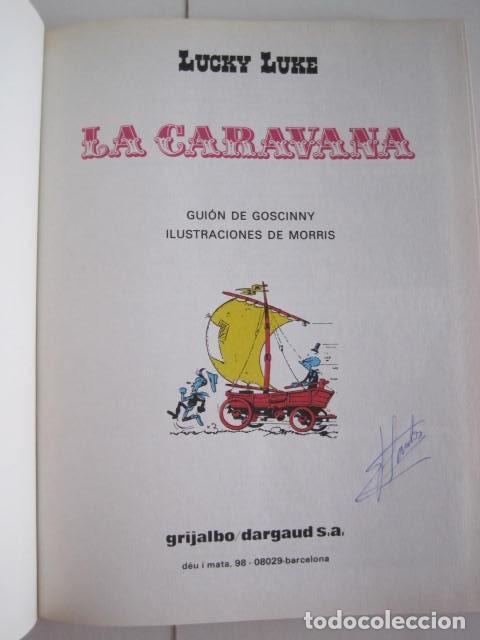 Cómics: LAS AVENTURAS DE LUCKY LUKE. GRIJALBO DARGAUD. GUIÓN, GOSCINNY. ILUSTRA, MORRIS. 4 TOMOS, COMPLETA. - Foto 33 - 237713870
