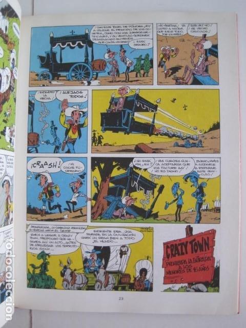 Cómics: LAS AVENTURAS DE LUCKY LUKE. GRIJALBO DARGAUD. GUIÓN, GOSCINNY. ILUSTRA, MORRIS. 4 TOMOS, COMPLETA. - Foto 36 - 237713870
