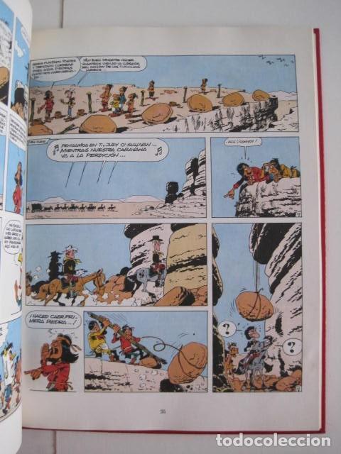 Cómics: LAS AVENTURAS DE LUCKY LUKE. GRIJALBO DARGAUD. GUIÓN, GOSCINNY. ILUSTRA, MORRIS. 4 TOMOS, COMPLETA. - Foto 37 - 237713870