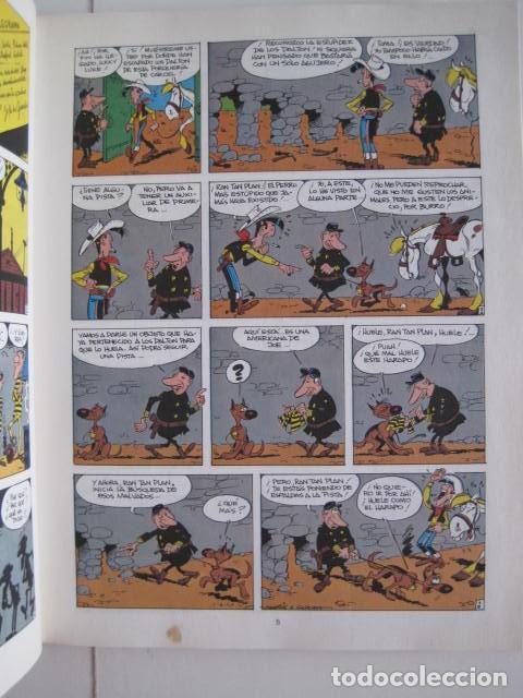 Cómics: LAS AVENTURAS DE LUCKY LUKE. GRIJALBO DARGAUD. GUIÓN, GOSCINNY. ILUSTRA, MORRIS. 4 TOMOS, COMPLETA. - Foto 48 - 237713870