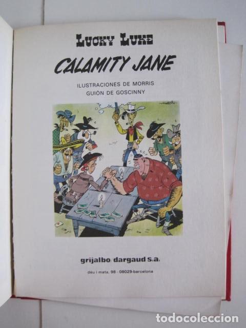 Cómics: LAS AVENTURAS DE LUCKY LUKE. GRIJALBO DARGAUD. GUIÓN, GOSCINNY. ILUSTRA, MORRIS. 4 TOMOS, COMPLETA. - Foto 49 - 237713870