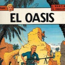 Cómics: LEFRANC - Nº 7 - EL OASIS - J.MARTIN Y G. CHAILLET - ED. JUNIOR - GRIJALBO - 1ª ED. 1987.. Lote 237831860