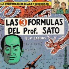 Cómics: LAS AVENTURAS DE BLAKE Y MORTIMER - LAS 3 FÓRMULAS DEL PROF. SATO - Nº 8 - ED. JUNIOR GRIJALBO 1986.. Lote 237840120
