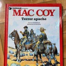 Cómics: MAC COY Nº 17: TERROR APACHE - IMPECABLE. Lote 238230720