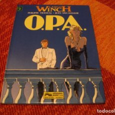 Cómics: LARGO WINCH 3 O.P.A. EN ESPAÑOL FRANCQ VAN HAMME JUNIOR TAPA DURA. Lote 238243395