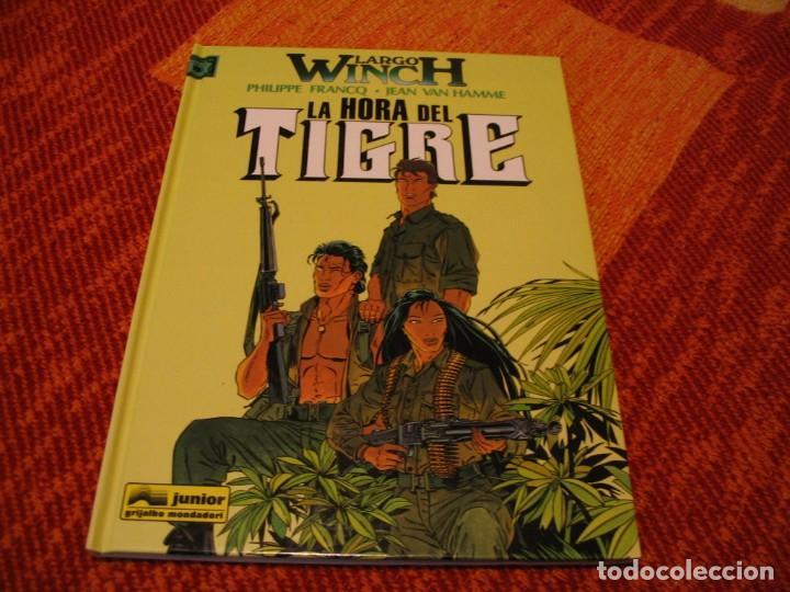 LARGO WNCH 8 LA HORA DEL TIGRE FRANCQ VAN HAMME JUNIOR TAPA DURA (Tebeos y Comics - Grijalbo - Largo Winch)