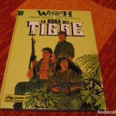 Cómics: LARGO WNCH 8 LA HORA DEL TIGRE FRANCQ VAN HAMME JUNIOR TAPA DURA. Lote 238243600