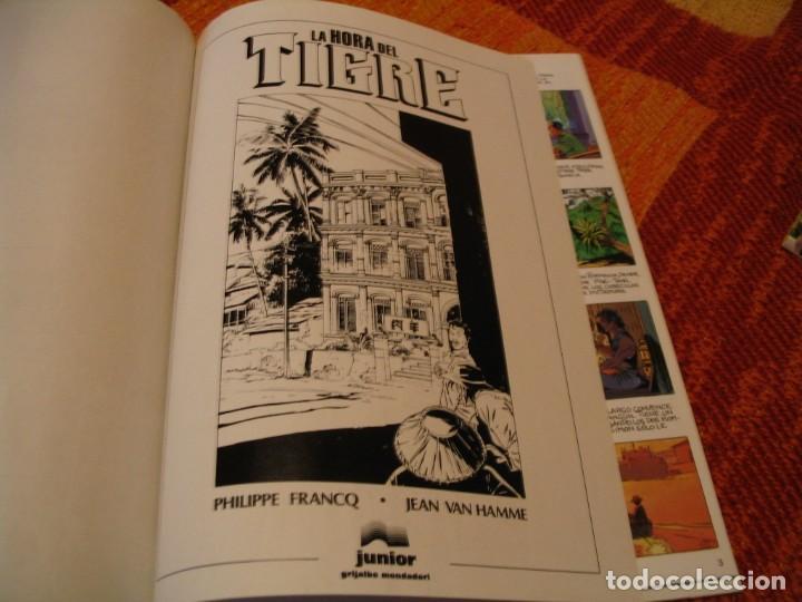 Cómics: LARGO WNCH 8 LA HORA DEL TIGRE FRANCQ VAN HAMME JUNIOR TAPA DURA - Foto 4 - 238243600