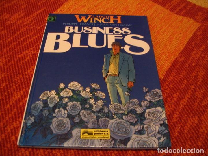 LARGO WINCH 4 BUSINESS BLUES EN ESPAÑOL FRANCQ VAN HAMME JUNIOR TAPA DURA (Tebeos y Comics - Grijalbo - Largo Winch)