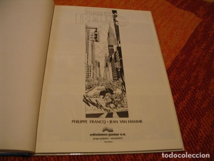 Cómics: LARGO WINCH 4 BUSINESS BLUES EN ESPAÑOL FRANCQ VAN HAMME JUNIOR TAPA DURA - Foto 3 - 238243745