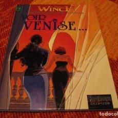 Cómics: LARGO WINCH 9 EN FRANCÉS VOIR VENISE FRANCQ VAN HAMME DUPUIS TAPA DURA. Lote 238244435